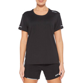 2XU XVENT G2 Run SS Shirt Women, black/silver reflective
